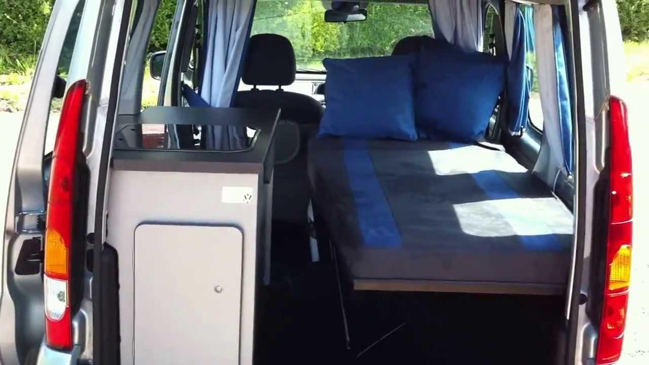 renault kangoo campervan microcamper for sale via ebay. Black Bedroom Furniture Sets. Home Design Ideas