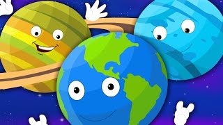 Nursery Rhymes From Oh My Genius - Planets Song For Children | Nursery Rhymes With Lyrics For Kids