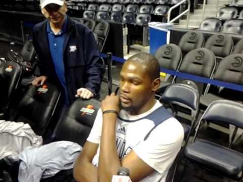 Backdoor Cut: Oklahoma City Thunder Kevin Durant Atlanta Hawks' presser 11.30.15