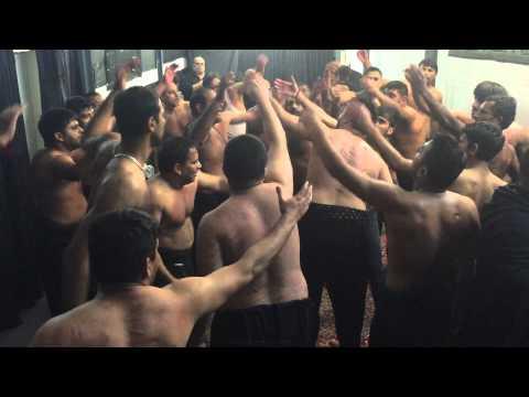 SHAAM HUI 2 nd muharram 2014 MATAMI SANGAT QAMRE BANNI HASHIM BONN GERMANY