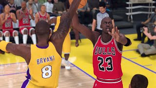 '95-'96 Chicago Bulls vs. '03-'04 Los Angeles Lakers - Game 1 - Finals - NBA 2K20