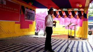 BORO SONG PERFORMED AT TANGLA WITH SSB BAND TEAM
