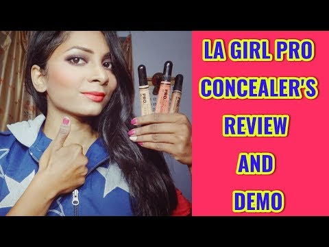 || LA GIRL PRO HD CONCEALER / COLOUR CORRECTOR REVIEW AND DEMO by Preeti Prajapati ||