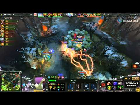 Speed Gaming vs S A D B O Y S - Eizo DOTA 2 Cup - Tobiwan & Capitalist