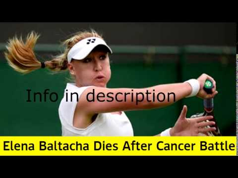 Breaking News: Elena Baltacha Dies After Cancer Battle
