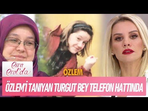 Özlem'i tanıyan Turgut Bey telefon hattında - Esra Erol'da 30 Kasım 2017