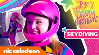 JoJo Siwa Goes INDOOR SKYDIVING?!?!?! ft. Hayden Summerall 😱JoJo's Dream Birthday Special!