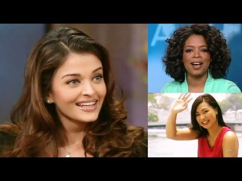 Aishwarya Rai and Tara Ramos on Oprah