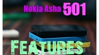 Nokia Asha 501 Features Review
