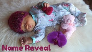 BABY GIRL'S NAME REVEAL
