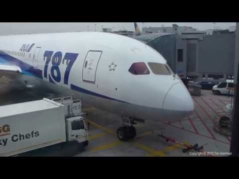[HD] All Nippon Airways Boeing 787-8 23-11-2012 Frankfurt - Tokyo Haneda extended