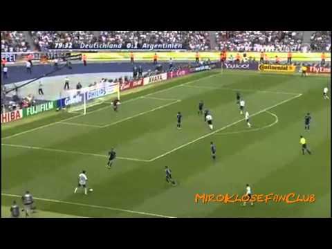 Miroslav Klose - Alle 14 WM-Treffer 2002-2010 | HD