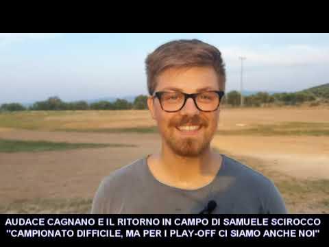 VIDEO: SAMUELE SCIROCCO DELL'AUDACE CAGNANO. IL CAMPIONATO DI PRIMA LO VINCE….