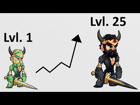 The Fastest Way to Level Up a Legend • Brawlhalla Gameplay