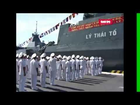 Sức mạnh Hải Quân Việt Nam - Tàu Gepard HQ 012 Lý Thái Tổ