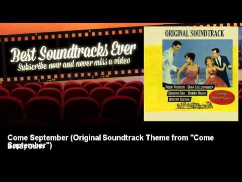 Bobby Darin - Come September - Original Soundtrack Theme From come September video