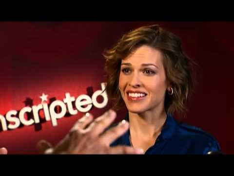 Unscripted with Hilary Swank and Gerard Butler