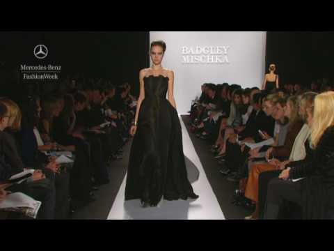 Badgley Mischka Fall 2009 runway show, Mercedes-Benz Fashion Week