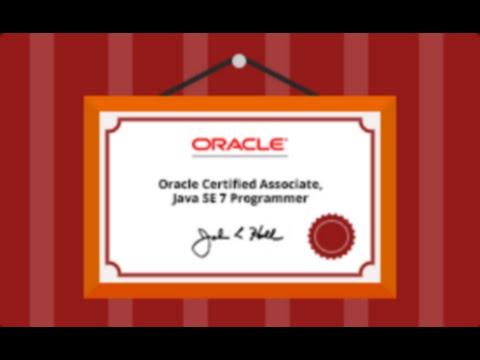 Первый сертификат Java Associate. Что нужно знать? [GeekBrains]