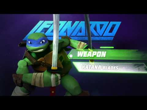 Conheça Leonardo - TMNT 2012 Nick BR oficial