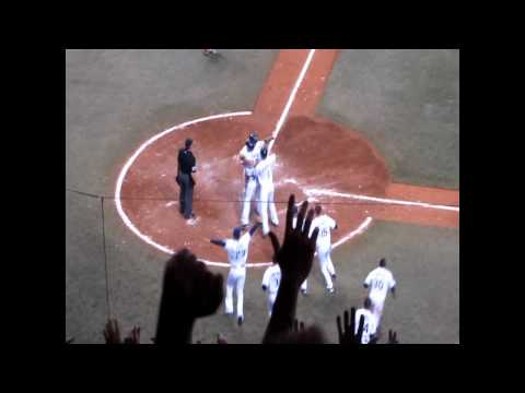 Carl Crawford's Game-Winning Hit Video
