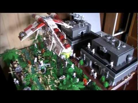 Lego Star Wars Alderaan Lego Star Wars Clone Base on