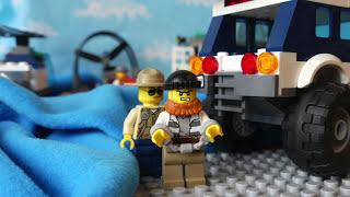 Лего сити мультик. С детской озвучкой! Lego City Логово преступников 60068. Видео для детей.