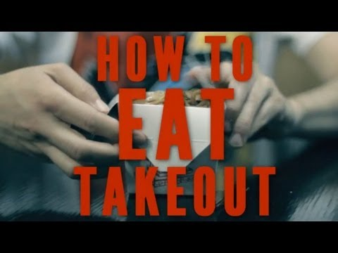 How to Eat Chinese Takeout, Like a Boss