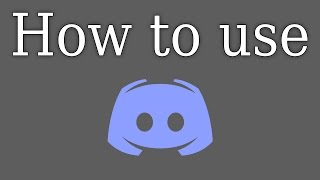 How to Use/Set up Discord (Create your own server)