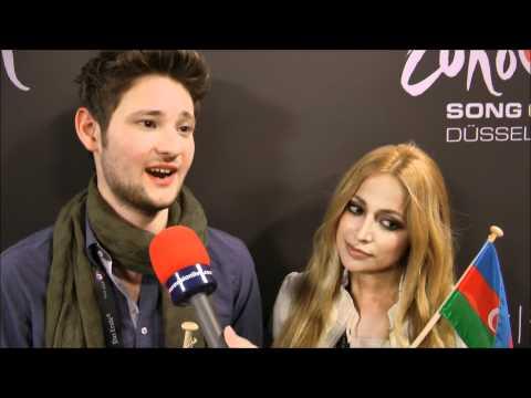 INTERVIEW WITH ELL & NIKKI (AZERBAIJAN 2011)