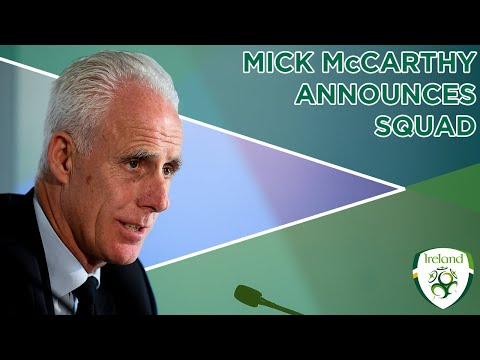 INTERVIEW | Mick McCarthy discusses squad selection for New Zealand & Denmark
