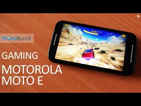 Motorola Moto E Gaming Review