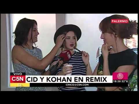 C5N - Remix de Noticias: Entrevista a Celeste Cid y Paula Kohan