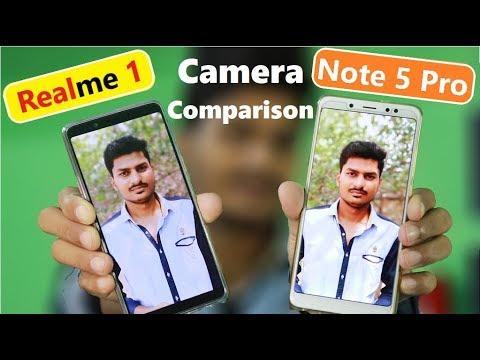 Oppo Realme 1 vs Redmi Note 5 Pro Full Detailed Camera Comparison Review in Hindi
