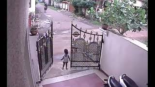 Small girl Accident