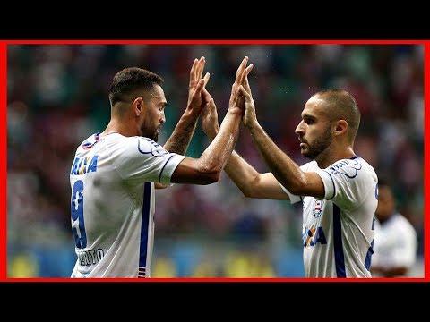 Bahia 2 X 2 Atlético. Gols de Matheus Galdezani, Ricardo Oliveira, Gilberto e Régis