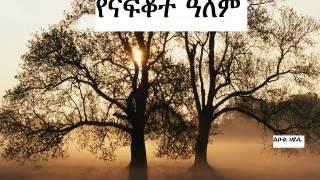 NEW AMHARIC POEM YENAFKOT ALEM BY LEUL HAILE|
