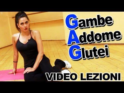 GAG: Esercizi per Gambe Addominali e Glutei - Allenamento per dimagrire da fare a casa