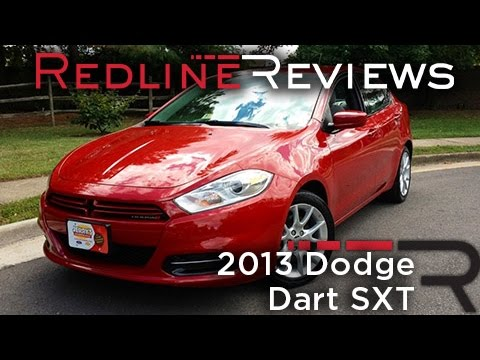 2013 Dodge Dart SXT Review, Walkaround, Exhaust, & Test Drive