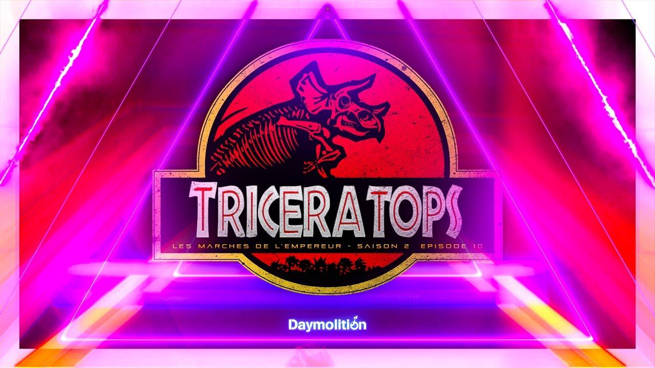 Alkpote Feat. Jarod & Tino | Les Marches de L'Empereur Saison 2 #10 #Triceratops