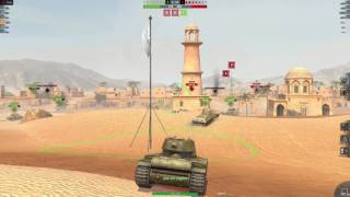 World Of Tanks Blitz KV-1 Derp Gun!?