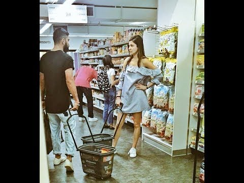 Anushka Sharma and Virat Kohli in New York  | Grocery Shop | Viral