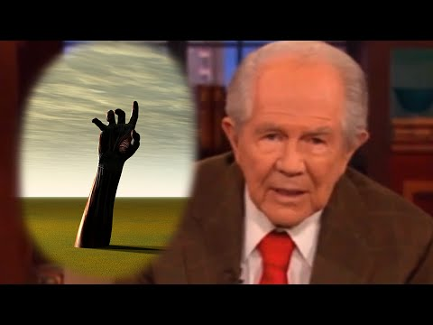 If You Know A Dead Person Pat Robertson Has GREAT News