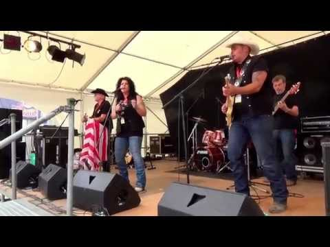 Black Hawks Country Band - INTERLAKEN 2015 (14 Min)