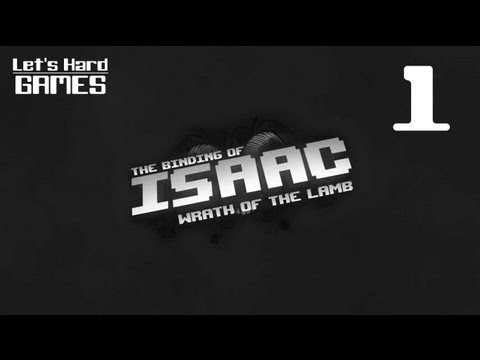 Прохождение The Binding of Isaac: Wrath of the Lamb #1 Начнем!