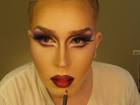 Drag Makeup Tutorial (Time Lapse)