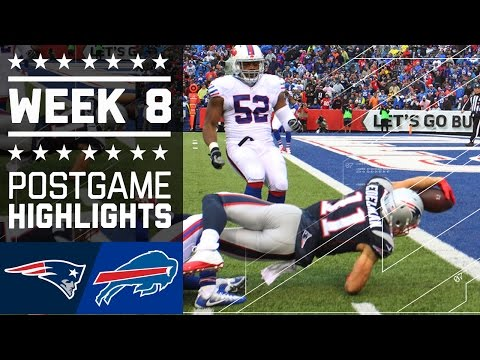 Patriots Vs Bills Nfl Week 8 Game Highlights