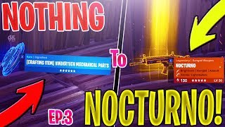 *NEW* Trading from nothing to a NOCTURNO *NOTHING TO SOMETHING* EP 3 In Fortnite Save The World PVE