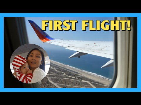 Babys First Flight!