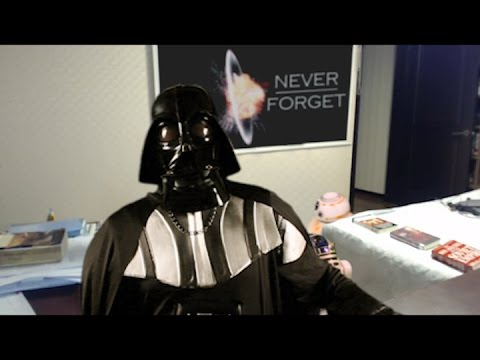 Droids Interrupt Darth Vader Interview [Parody of Children Interrupt BBC Interview]